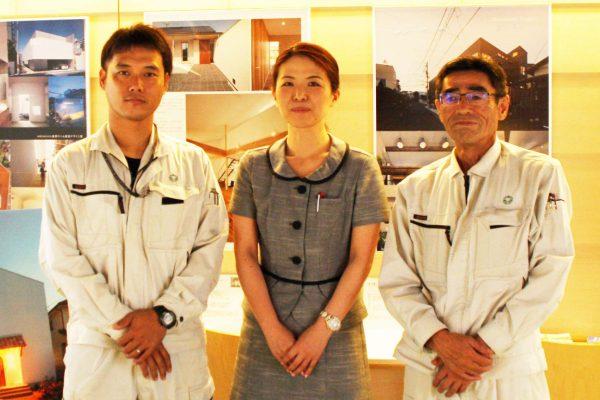 田畑慎也(左)/得能喜代美(中央)/北村実(右)